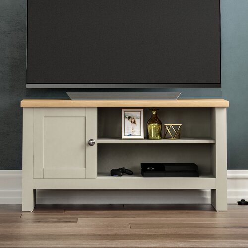 "Manion TV Stand for TVs up to 50"" Brambly Cottage"