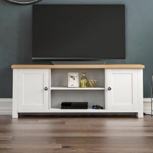 """Mankato TV Stand for TVs up to 60"""" Brambly Cottage Colour: White"""