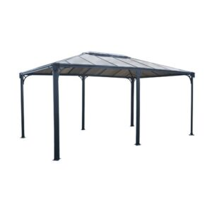 Martinique Patio Gazebo Palram Size: 268.10cm H x 359.30cm W x 493.10cm D
