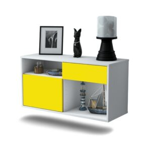 Matthieu TV Stand Ebern Designs Colour: Yellow