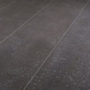 Metal ID Anthracite Matt Concrete effect Porcelain Floor Tile Sample