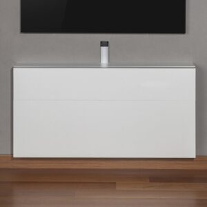 "Michaela Space Saving TV Stand for TVs up to 43"" Wade Logan"