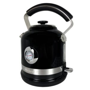 Moderna 1.7L Stainless Steel Electric Kettle Ariete Colour: Black