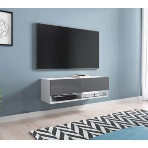 """Moorestown TV Stand for TVs up to 49"""" Ebern Designs"""