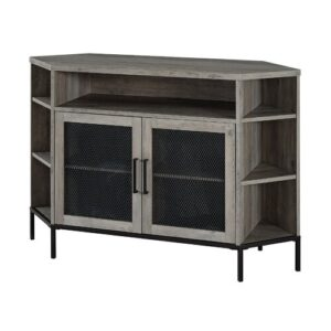 "Nadell TV Stand for TVs up to 55"" Brayden Studio Colour: Grey Wash"