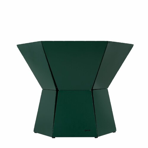 Natasha Coffee Table Ebern Designs Colour: Green, Size: H50 x L80 x W69cm