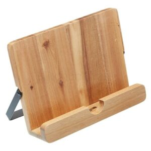 Natural Elements Acacia Wood Cookbook / Tablet Stand KitchenCraft