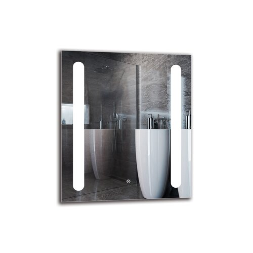 Nauset Bathroom Mirror Metro Lane Size: 70cm H x 60cm W