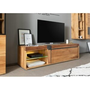 "New Amsterdam TV Stand for TVs up to 60"" Massivmoebel24"