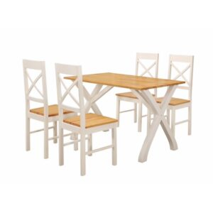 Normandy Dining Table with 4 Chairs