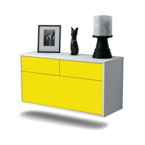 Nubell TV Stand Ebern Designs Colour: Yellow