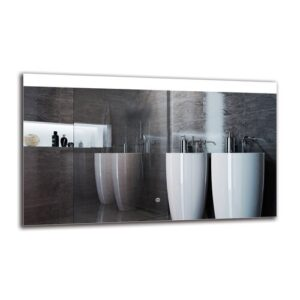 Ozark Bathroom Mirror Metro Lane Size: 60cm H x 100cm W