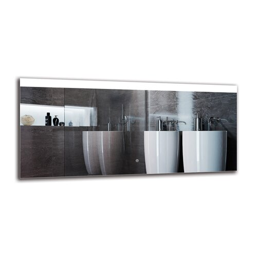 Ozark Bathroom Mirror Metro Lane Size: 60cm H x 130cm W