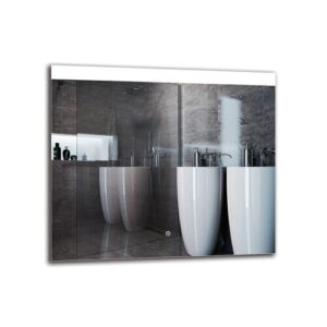 Ozark Bathroom Mirror Metro Lane Size: 70cm H x 80cm W