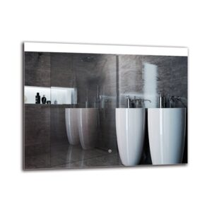 Ozark Bathroom Mirror Metro Lane Size: 70cm H x 90cm W