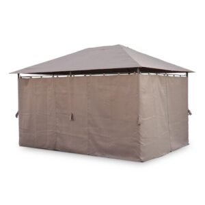 Phirun 3.9m x 2.9m Steel Patio Gazebo Sol 72 Outdoor