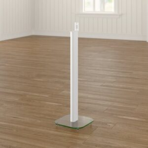 Play 1 84.5cm Fixed Height Speaker Stand Symple Stuff Finish: White