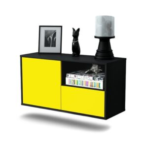 Pomroy TV Stand Ebern Designs Colour: Yellow