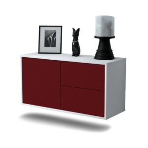 Provence TV Stand Ebern Designs Colour: Red
