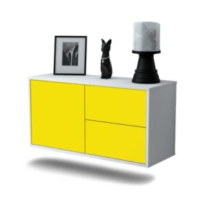 Provence TV Stand Ebern Designs Colour: Yellow