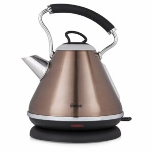 Pyramid 1.7L Stainless Steel Electric Kettle Swan