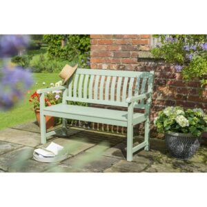 RHS Rosemoor Solid Wood Traditional Bench Kettler UK