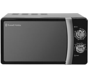 RUSSELL HOBBS RHMM701B Compact Solo Microwave - Black, Black