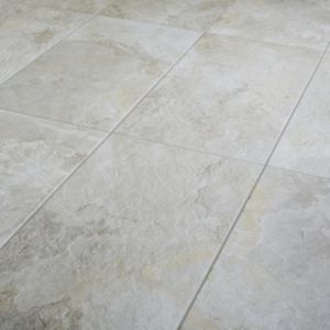 Reclaimed Beige Matt Stone effect Porcelain Floor Tile Sample