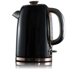 Rosegold 1.7L Stainless Steel Electric Kettle Tower Colour: Black