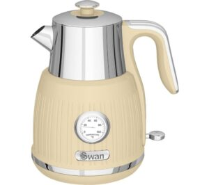SWAN Retro SK31040CN Jug Kettle - Cream, Cream