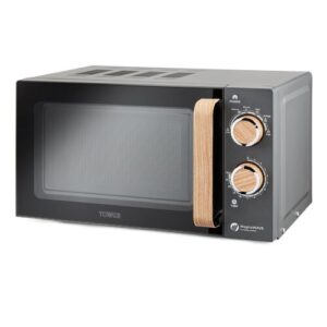Scandi 20 L 800W Countertop Microwave Tower Colour/Finish: Grey