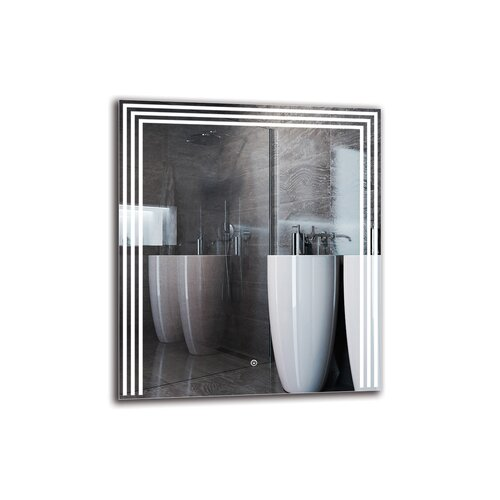 Shavarsh Bathroom Mirror Metro Lane Size: 80cm H x 70cm W
