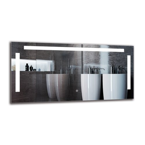 Shiraz Bathroom Mirror Metro Lane Size: 50cm H x 100cm W