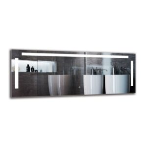 Shiraz Bathroom Mirror Metro Lane Size: 50cm H x 130cm W