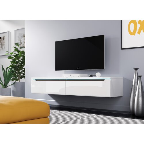 """Shively TV Stand for TVs up to 60"""" Mercury Row Colour: Wotan oak"""