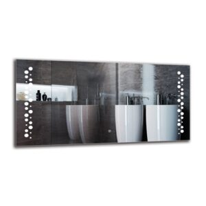 Sisag Bathroom Mirror Metro Lane Size: 60cm H x 120cm W