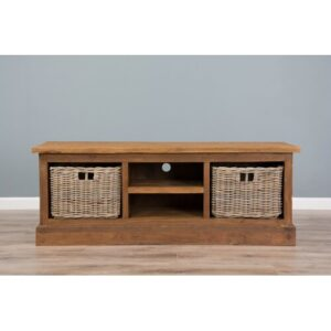 """Sol TV Stand for TVs up to 78"""" Union Rustic Colour: Natural"""