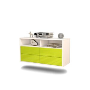 Somerby TV Stand Ebern Designs Colour: Neon Green