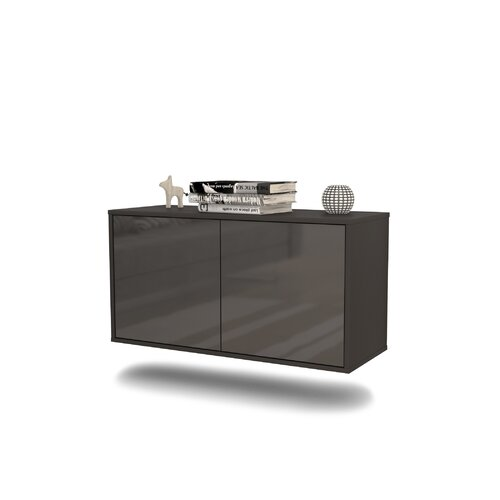Sommerfield TV Stand Ebern Designs Colour: High Gloss Grey