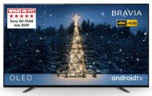 Sony 55 Inch KD55A8BU Smart 4K Ultra HD OLED TV with HDR