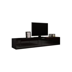 """Steck TV Stand for TVs up to 78"""" Metro Lane Colour: Black"""