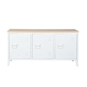 """Stowmarket TV Stand for TVs up to 55"""" Williston Forge Colour: White"""