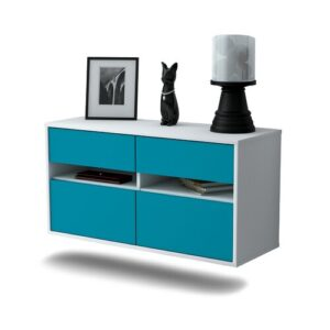 Streton TV Stand Ebern Designs Colour: Turquoise