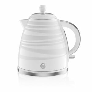 Swan Symphony 1.7 L Electric Kettle Swan Colour: White
