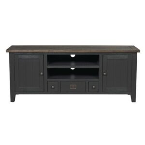 "TV Stand for TV up to 75"" August Grove Colour: Grey/Brown"