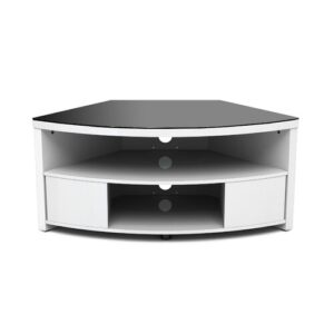 "TV Stand for TVs up to 42"" Symple Stuff Finish: Gloss White"