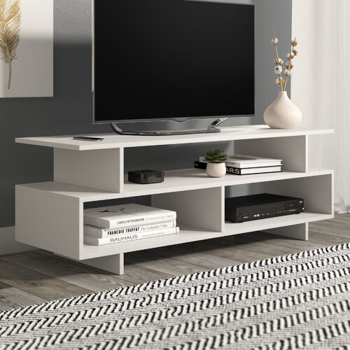 "TV Stand for TVs up to 43"" Symple Stuff Colour: White"
