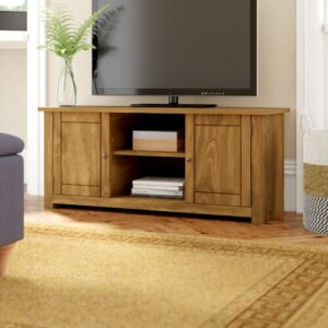 """TV Stand for TVs up to 43"""" Three Posts"""