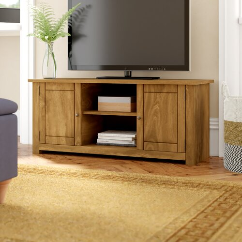 "TV Stand for TVs up to 43"" Three Posts"