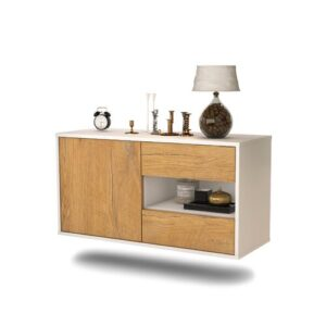 Tessa TV Stand Ebern Designs Colour: Oak